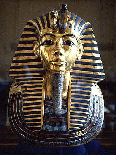 Tutanhamon fáraó arany halotti maszkja