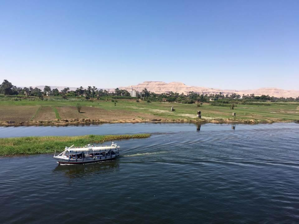Egyiptom, Luxor, Nílus, Hajó, Hajózás,