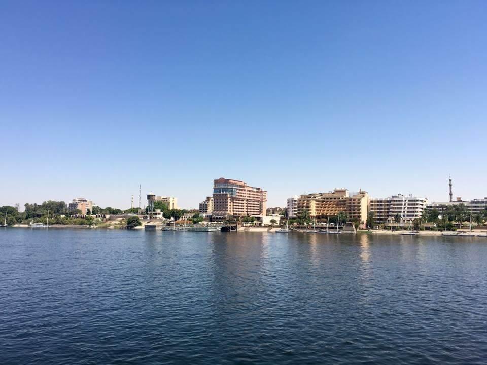 Egyiptom, Luxor, Nílus, Hajó, Hajózás