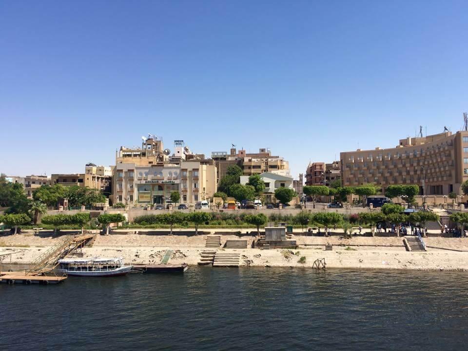 Egyiptom, Luxor, Nílus, Hajó