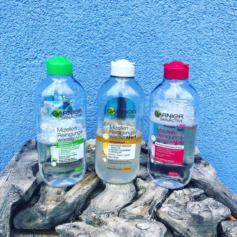 garnier micellás arctisztító vízek
