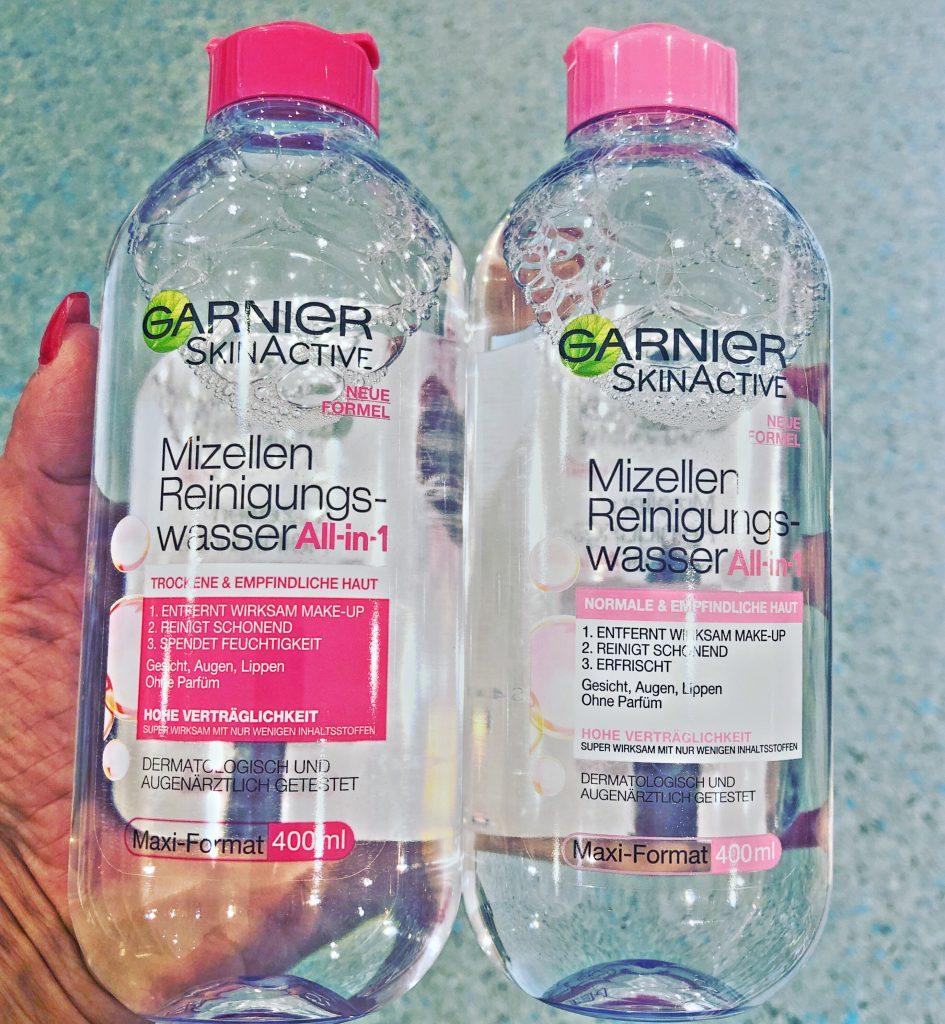 micellás arctisztító víz normál és érzékeny bőrre