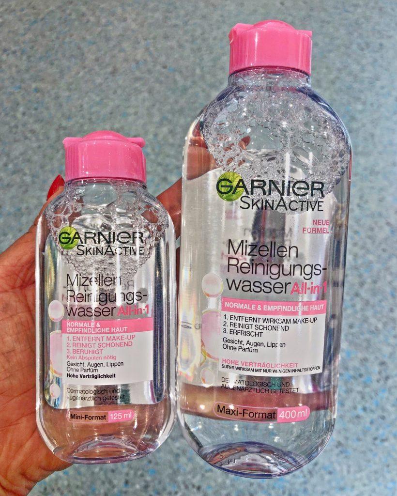 garnier micellás arctisztító víz utazó méret