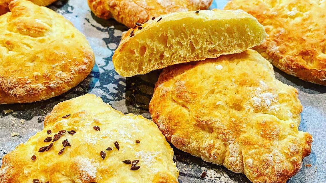 Fladenbrot, pita kenyér